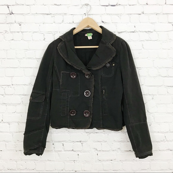 Anthropologie Jackets & Blazers - Anthro Ett Twa Sumptuary Patchwork Blazer Jacket